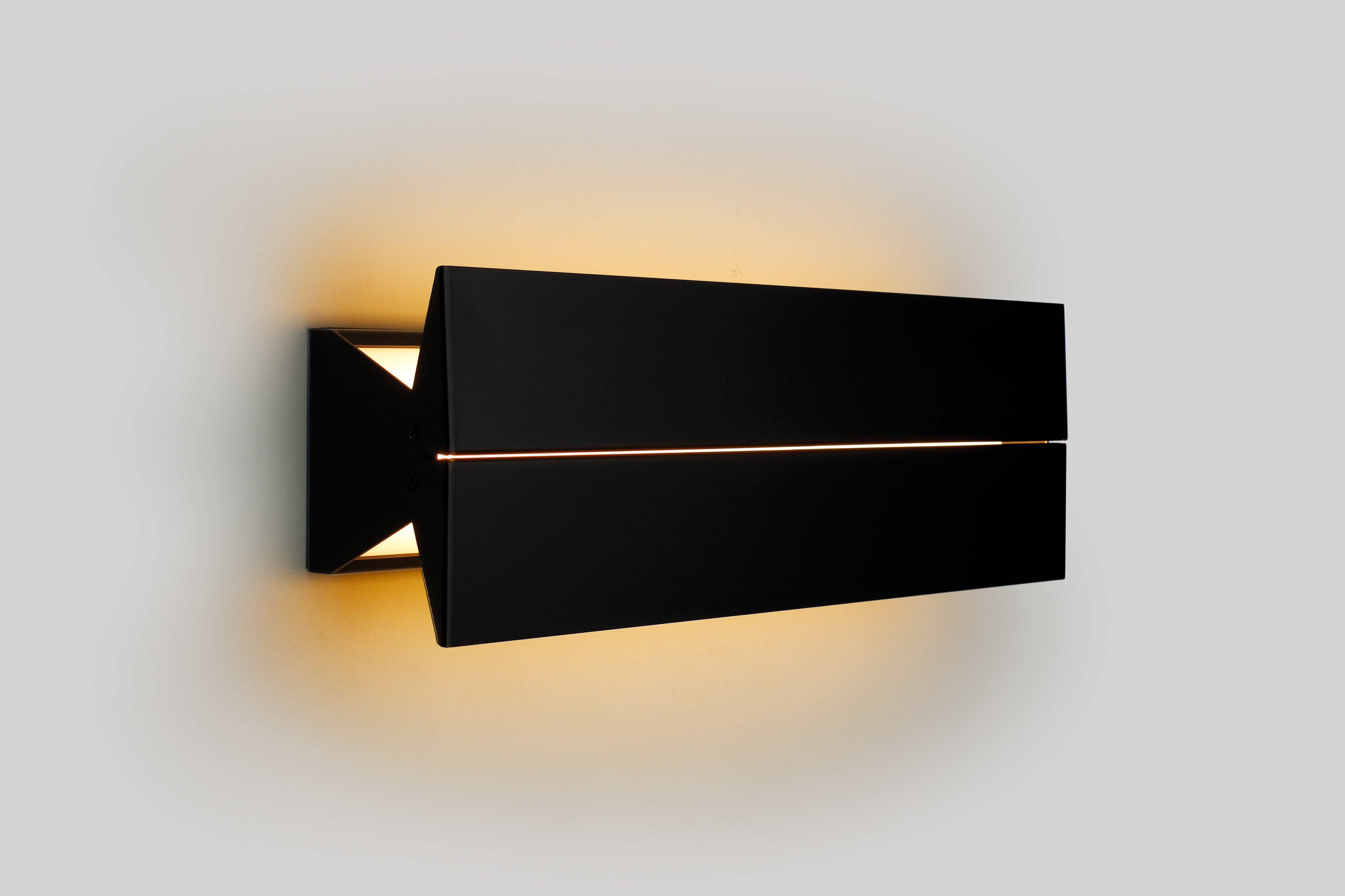 product lighting sconce bronzeclear clear domi mid bronze articolo domimid type wall